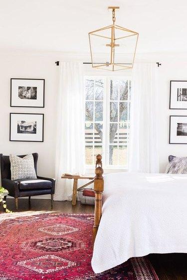 bedroom pendant light