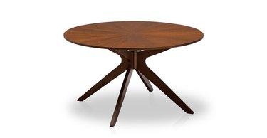 Wood Mid Century Dining Table