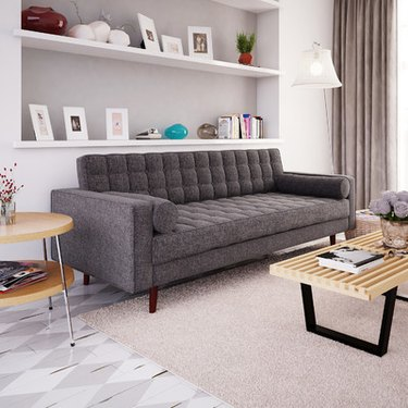 wayfair cosgrove modern mid-century sofa
