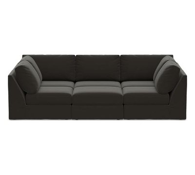 Big Sur Slipcovered Pit Sectional