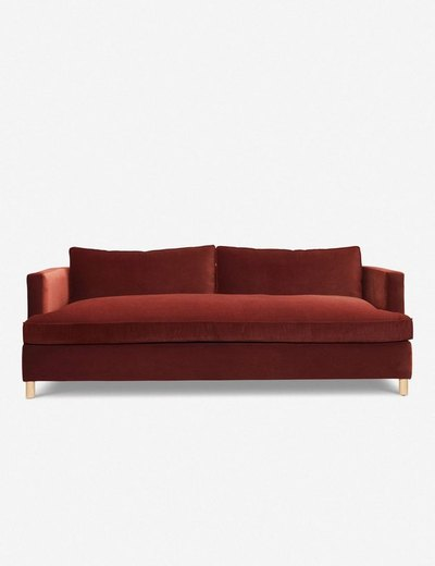 This comfortable sofa is available in a variety of fabrics and colors making it the perfect mix-and-match piece.
