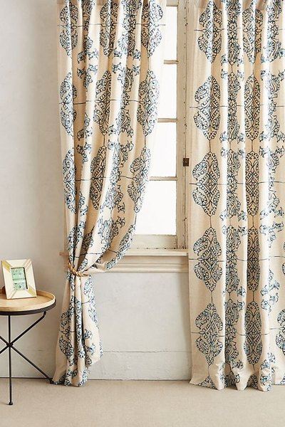 Embroidered Gretta Curtain
