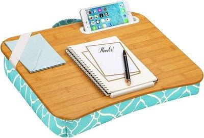 LapGear Designer Lap Desk with Phone Holder and Device Ledge