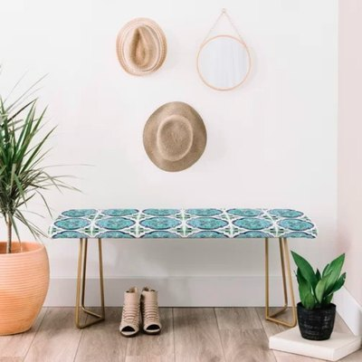 The bench may be the most versatile home decor piece out there! Whether you place it at the end of your bed, in an entryway or in the living room, you'll find this bench is a perfect fit and the ultimate finishing touch for just about any space.