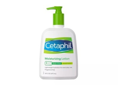 Simplify the way you care for your skin with the nurturing, gentle power of Cetaphil Moisturizing Lotion. ​Preventing dryness before it starts, lightweight Cetaphil lotion is fast-absorbing and enhances skin's natural moisture, leaving winter dry skin feeling soft, smooth and replenished. This moisturizing lotion includes six moisturizers, plus vitamin E and B5, for long-lasting, 24-hour hydration. With a fragrance-free and non-comedogenic formula, dermatologist-recommended Cetaphil Moisturizing Lotion is ideal for even the most sensitive skin.