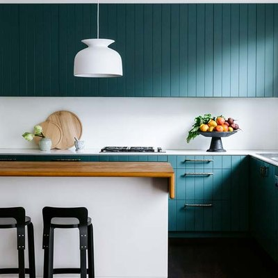 9 Green Kitchens That Are Positively On Trend