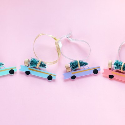 Neon car ornaments