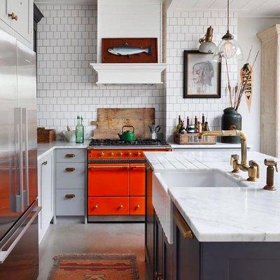 This Stunning Kitchen Features a Surprising Statement-Maker
