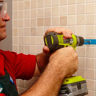 How to Drill Through Ceramic Tile