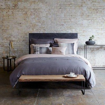 gray duvet cover set