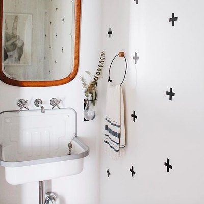This Is How to Pack Big Personality Into a Small Bathroom