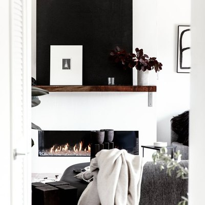 9 Living Room Fireplace Ideas That Are White Hot