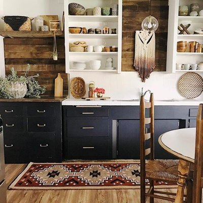 This Is How to Nail a Boho-Chic Kitchen Design