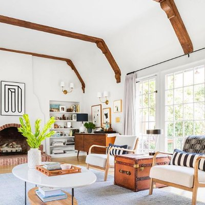 White and Wood Is a Fresh and Timeless Combination