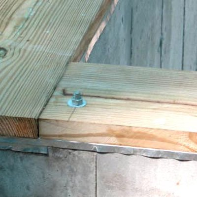 Sill plates on foundation walls