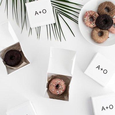 DIY Take Home Dessert Boxes