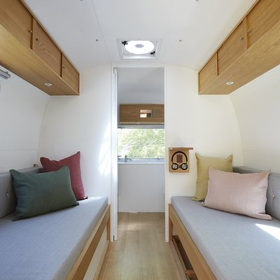 This 1970s Airstream Trailer Is Unbelievably Scandi-Cool