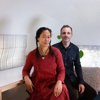 Cynthia Tuan and Shane Beers