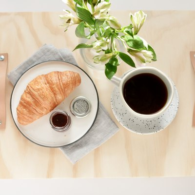 Just a Super Cute Breakfast Tray You Can Easily Make Using Wood