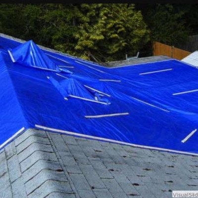 How to Tarp a Roof