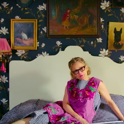 Hi, Amy Sedaris, Your Apartment Is Hilariously Cute and We Like You