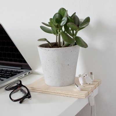DIY Cable Desk Organizer