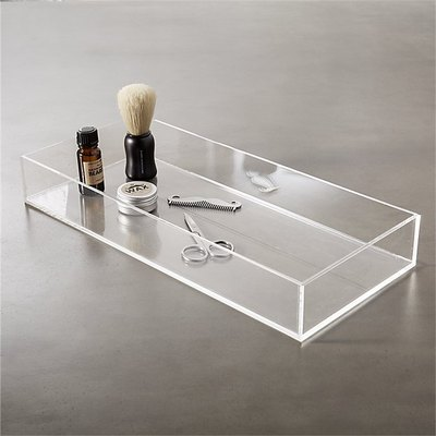 decorative accent acrylic tray