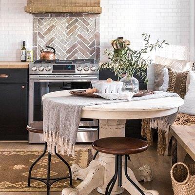 10 Kitchens That Will Make You Reconsider a Stone Tile Backsplash