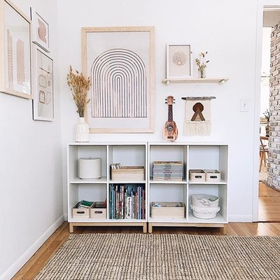 This is How to Fill a Blank Wall With Style