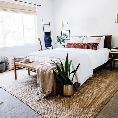 This Bedroom Totally Nails Boho-Sophistication