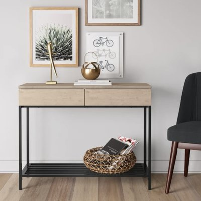 14 Budget-Friendly Entryway Tables that Will Double Your Storage Space