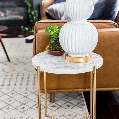 IKEA Hacks: From Plain Table to Marble Masterpiece