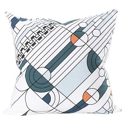 KAF Home Frank Lloyd Wright Printed Throw Pillow Cover