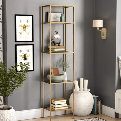 birch lane buchanan mini bookcase