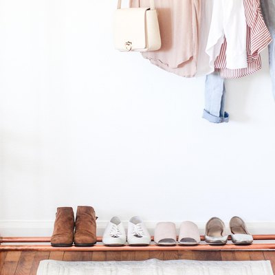 A DIY Copper Clothing Stand to Complement Your Minimalist Decor