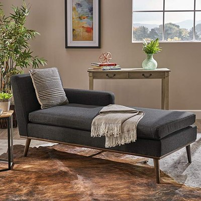 Great Deal Furniture Sophia Mid Century Modern Chaise Lounge