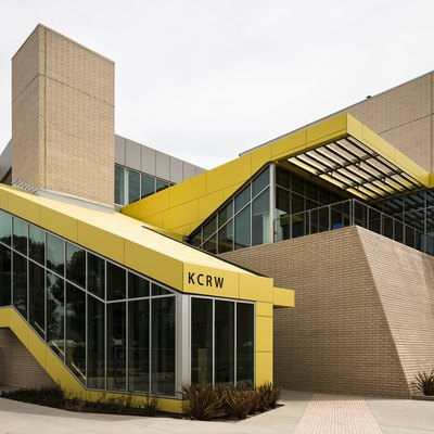 Renowned LA Public Radio Station KCRW Finally Has a Sleek New Building