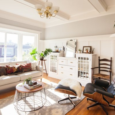A Victorian-Era Rental in San Fran Mixes Target With Vintage Finds