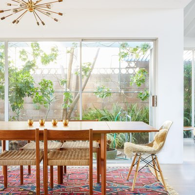 Peek Inside This Interior Designer's Updated Midcentury Abode