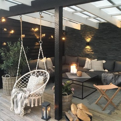 Please Excuse Us While We Spend the Summer on This Dreamy Patio