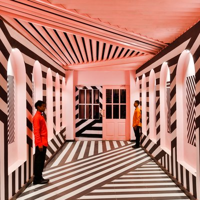 Wes Anderson Would Approve of This Trippy Restaurant
