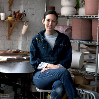 Ceramicist Helen Levi Turned a Raw Brooklyn Space Into a Super Functional Studio