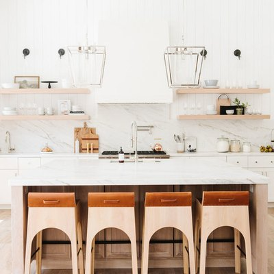 7 of the Prettiest Kitchen Backsplash Ideas We've Seen This Year (So Far)