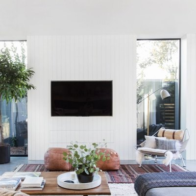 Yes, It Is Possible to Incorporate a TV Into a Chic Living Room — Here's Proof