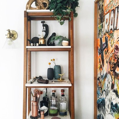 Raise a Glass: 7 Clever Living Room Bar Ideas for Impromptu Cocktail Hours