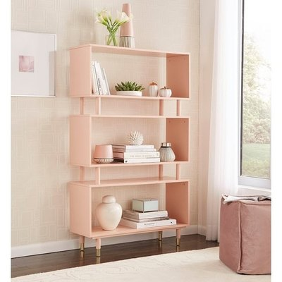 simple living bookshelf