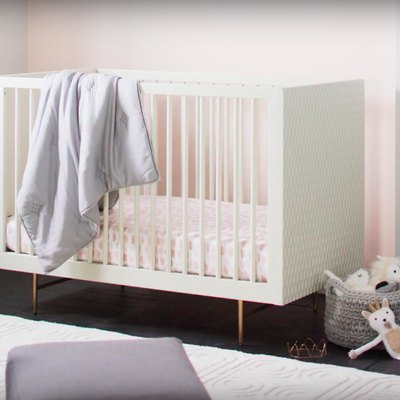 West Elm and Pottery Barn Kids Collab to Bring You Perfectly Midcentury Nursery Furniture