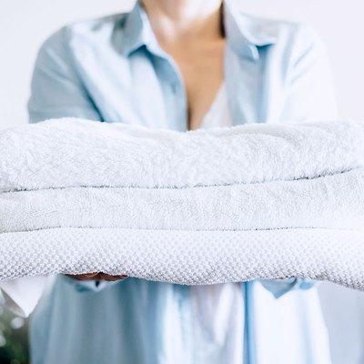 Do This to Get the Whitest Towels, Naturally