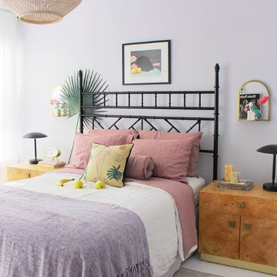 Sophisticated Pastels Complete a Beachy Bedroom