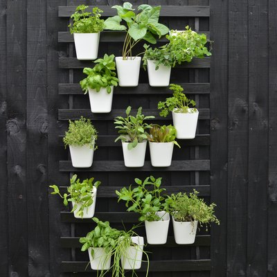 IKEA Hack: DIY Vertical Garden